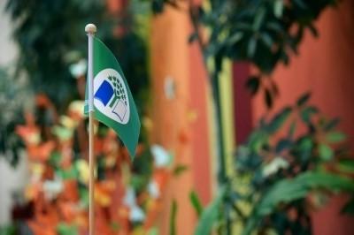Ekoskolu programmas apbalvojumus par sasniegumiem vides izglītībā